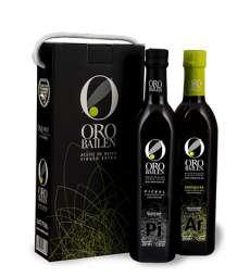 Extra szűz olívaolaj Oro Bailen.Estuche 2 botellas 750 ml.