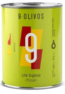 Olívaolaj 9-Olivos, picual