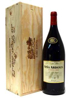 Vörösbor Viña Ardanza  en caja de madera (Magnum)
